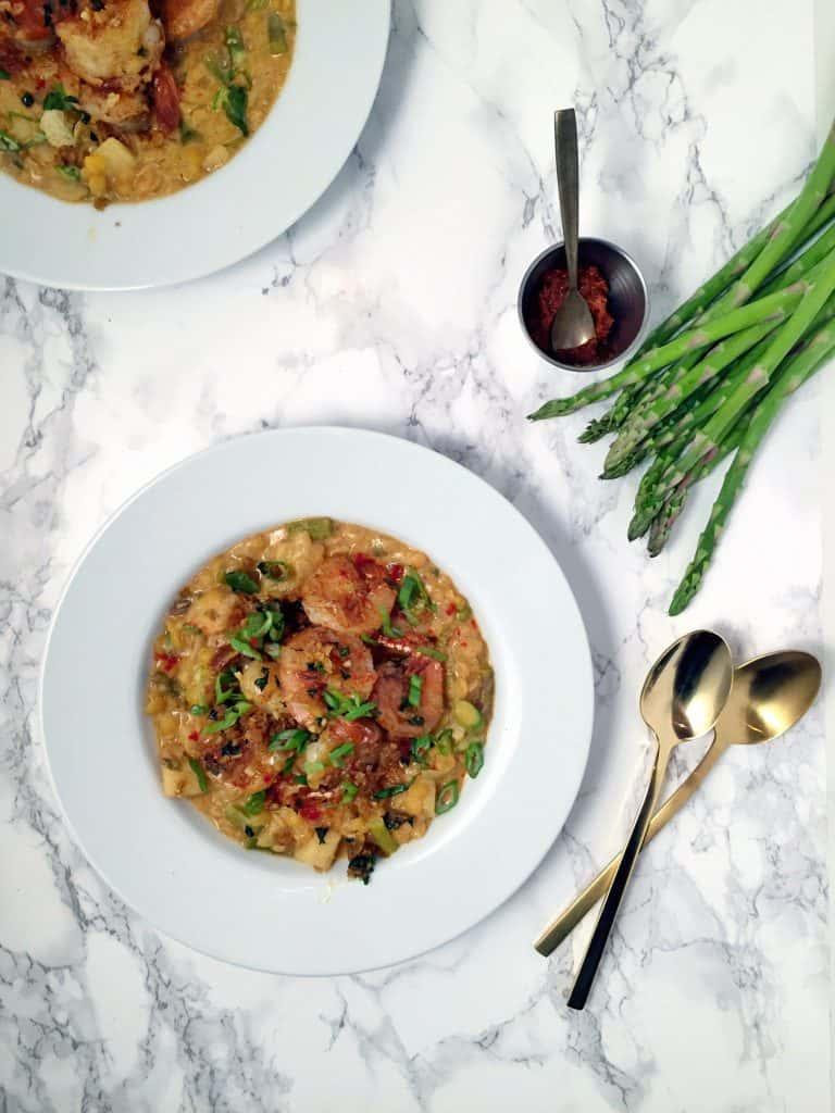 asparagus lentil soup