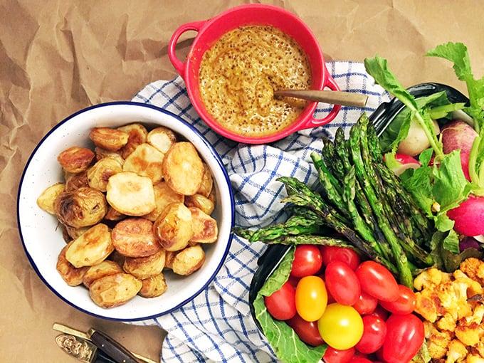 lenaskitchenblog salt and vinegar potatoes