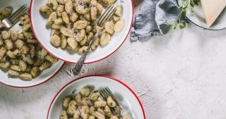 easy browned butter and sage gnocchi by lenaskitchenblog.com
