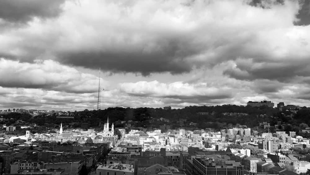 Cincinnati from above
