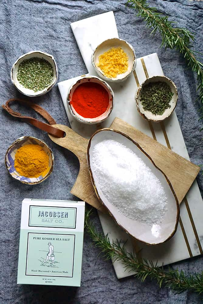 homemade flavored salts