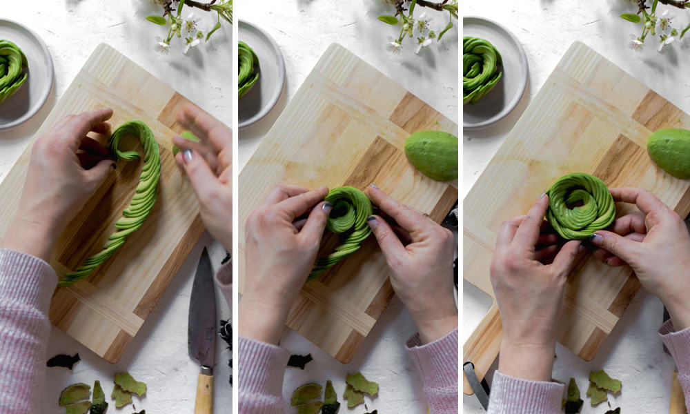 AVOCADO ROSE TUTORIAL