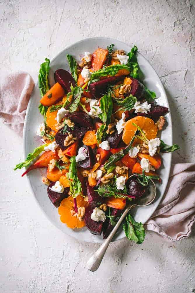 beets salad with citrus