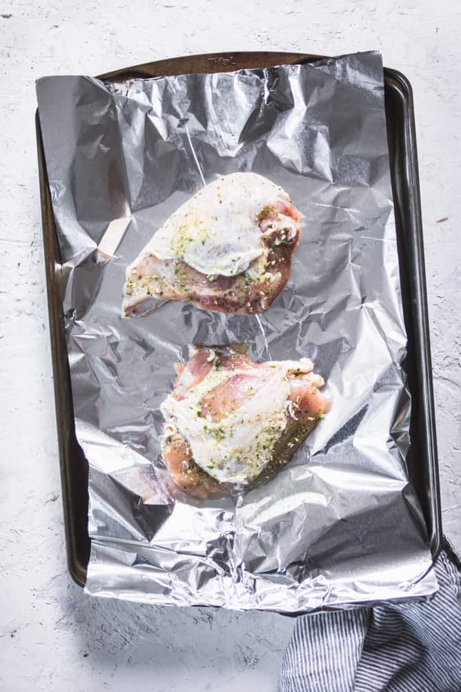 One sheet pan everyday baked chicken breast