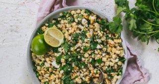 Easy Mexican Street Corn salad for Cinco De Mayo