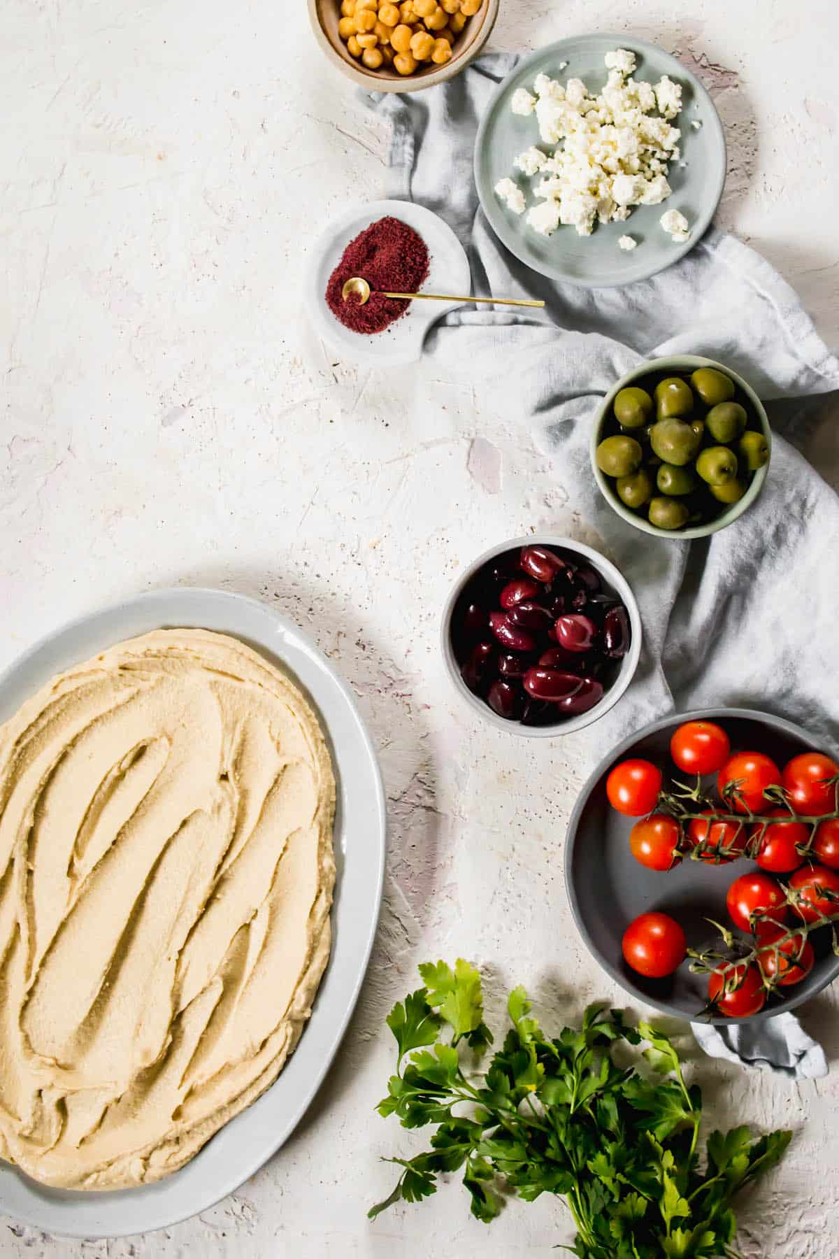 Toppings for The Best Homemade Loaded Hummus